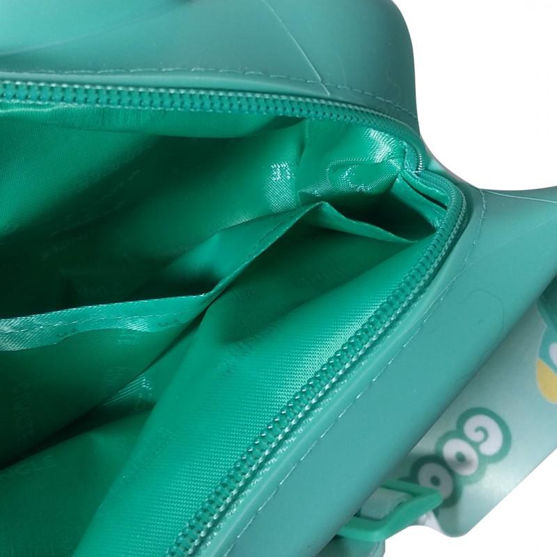 Сумка на пояс Q UNCLE зеленая лягушка