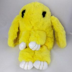Сумка-рюкзак Кролик (Зайка) из меха
