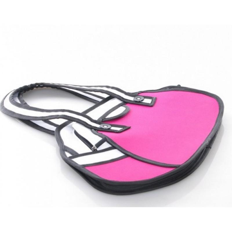 Сумка 2d розовая