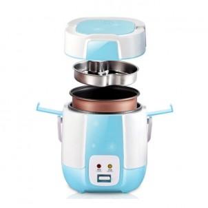 Мини мультиварка-рисоварка Wifer 1.2 литра, голубая