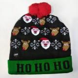 Новогодняя шапка со светодиодами
