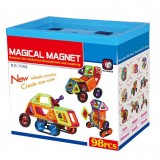 Магнитный конструктор Magical Magnet 98 деталей