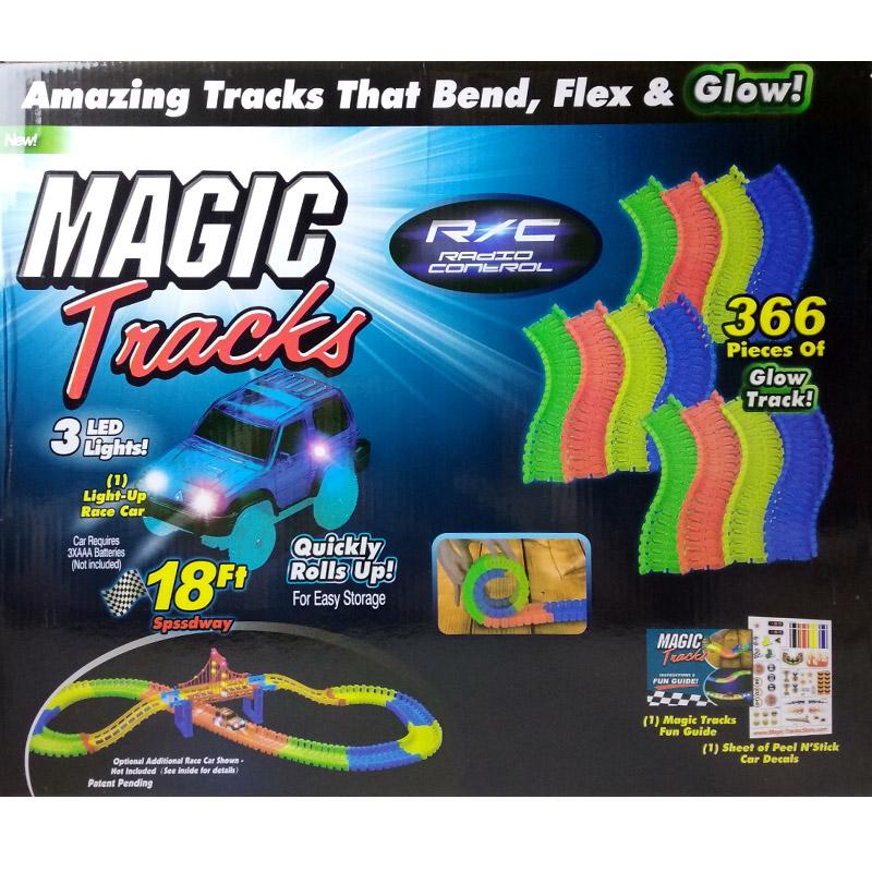 Трасса Magic Tracks 366 деталей Мосты, машинка на пульте