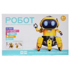 Игрушка-конструктор робот HG-715 красный