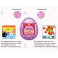 Виртуальный питомец Тамагочи Tamagotchi розовый с цветным дисплеем (USB зарядка)