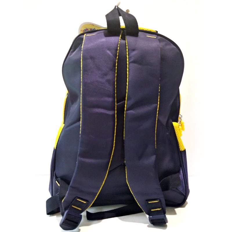 Пиксельный рюкзак желтый, синий