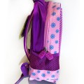 Пиксельный рюкзак 32*24*10 см, фиолетовый