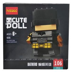 Конструктор Decool герои Марвел. Bathero 6836