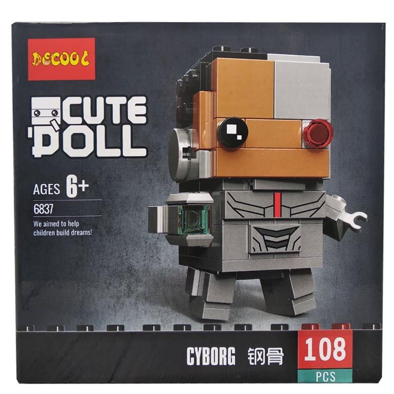 Конструктор Decool герои Марвел. Cyborg 6837
