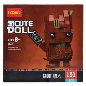 Конструктор Decool герои Марвел. Groot 6846