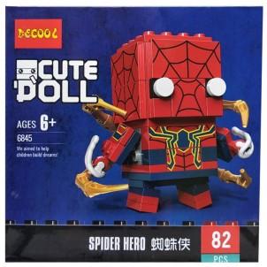 Конструктор Decool Cute Doll Человек-паук, 82 детали, 6845