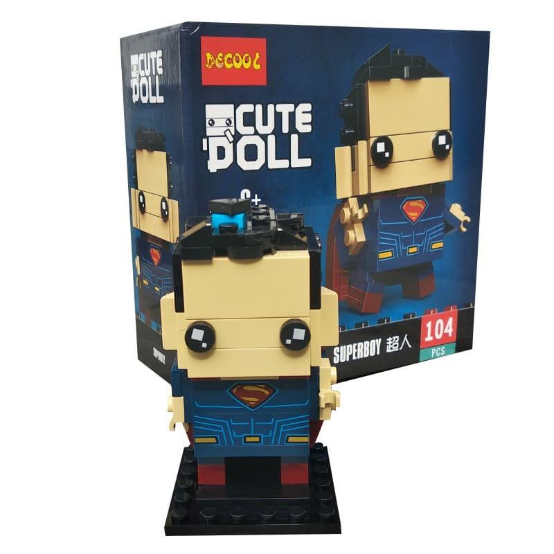 Конструктор Decool герои Марвел. Superboy 6835