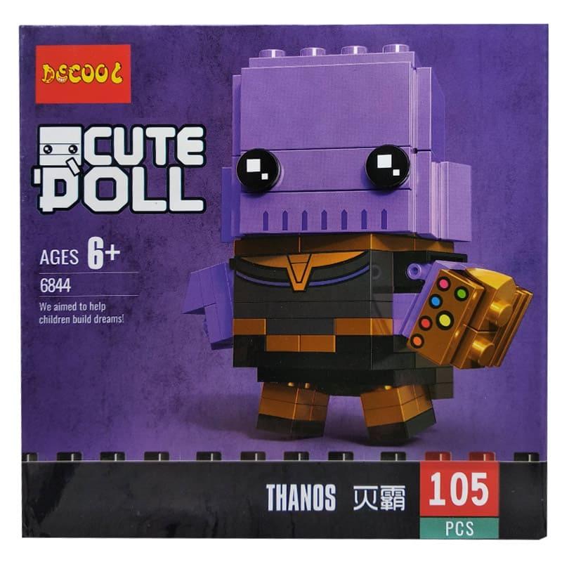 Конструктор Decool герои Марвел. Thanos 6844