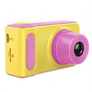 Детский цифровой мини фотоаппарат Photo Camera Kids Mini Digital, розовый