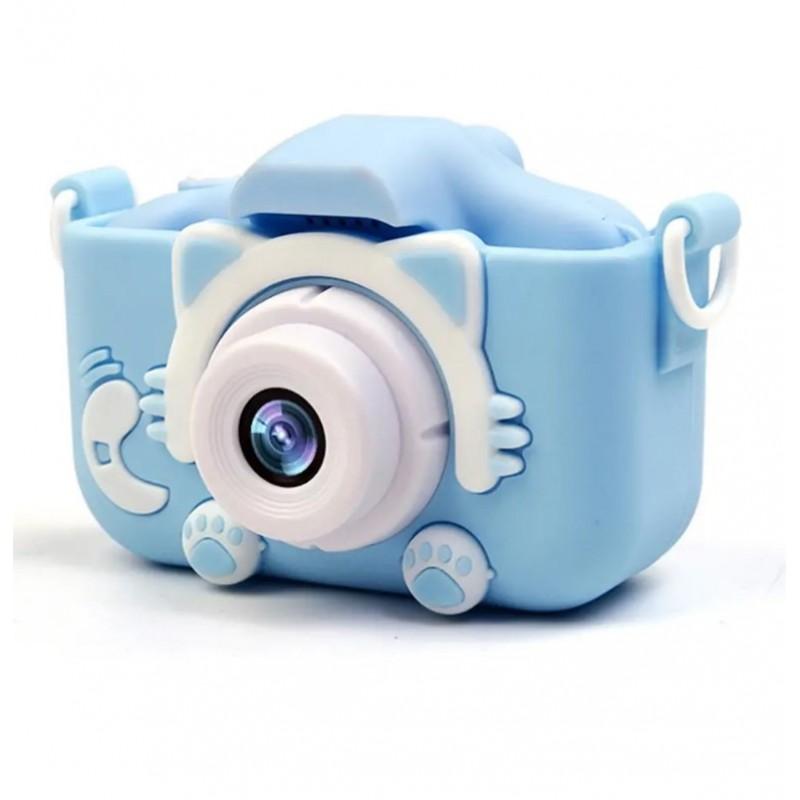 Фотоаппарат Fun Camera Kitty со встроенной памятью и играми, голубой