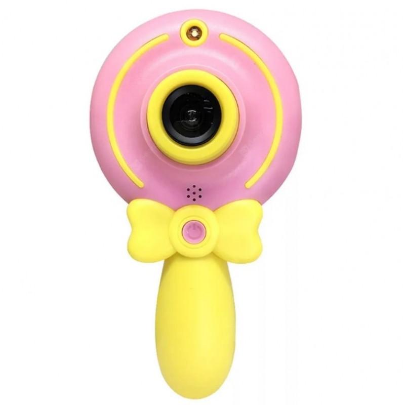 Подарочный набор с мини фотоаппаратом и мягкой игрушкой