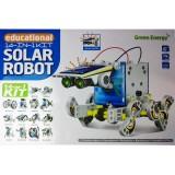 Конструктор 14 в 1: робот на солнечных батареях Solar Robot Educational