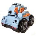 Стреляющий танк Phantom Storm серый управление жестами + большой набор пулек