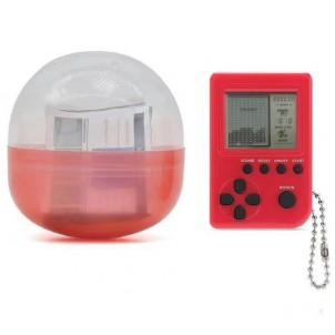 Мини тетрис, портативная электронная игрушка-брелок