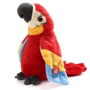 Интерактивная мягкая игрушка Попугай-повторюшка