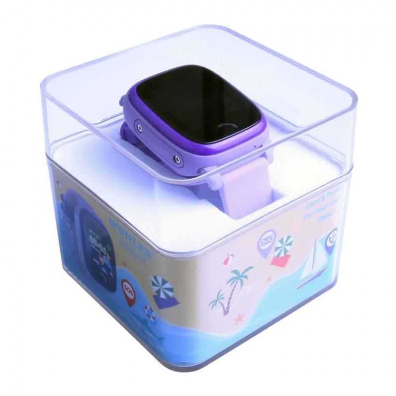 Водонепроницаемые детские часы Smart Baby Watch GW400S Wonlex сиреневые