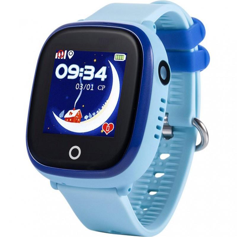 Водонепроницаемые детские часы Smart Baby Watch GW400X Wonlex голубые