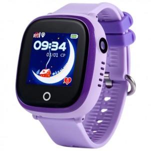 Водонепроницаемые детские часы Smart Baby Watch GW400X Wonlex сиреневые