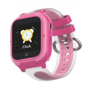Умные детские часы Wonlex KT08 розовые