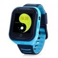 Влагозащищенные часы Wonlex KT 11 голубые с видеозвонком