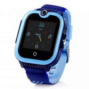Часы Smart Baby Watch Wonlex KT13 синие с видеозвонком