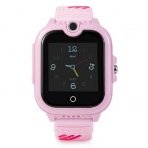 Часы Smart Baby Watch Wonlex KT13 розовые с видеозвонком