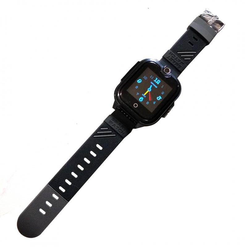 Часы Smart Baby Watch Wonlex KT13 черные с видеозвонком