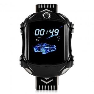 Умные часы Smart Baby Watch Wonlex KT 14 черные с видеозвонком