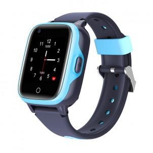Влагозащищенные часы Wonlex KT15 голубые с видеозвонком