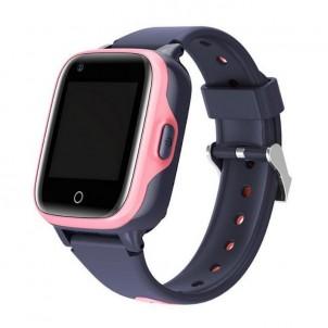 Влагозащищенные часы Wonlex KT15 розовые с видеозвонком