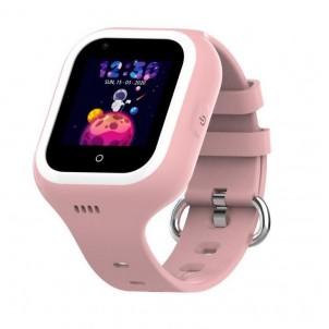 Влагозащищенные часы Wonlex KT 21 розовые с видеозвонком