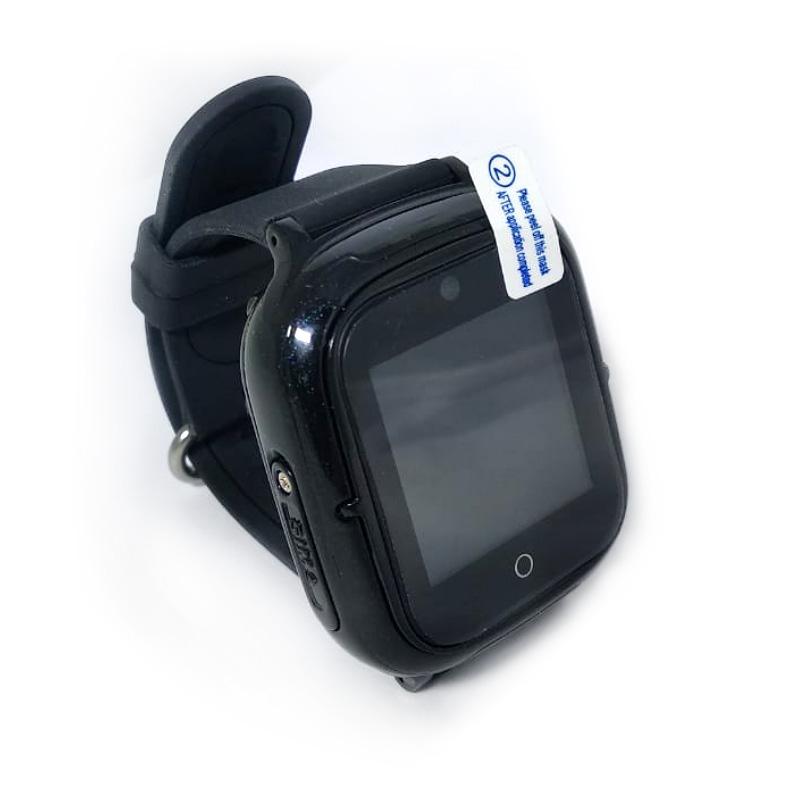 Умные детские часы Wonlex KT08 черные