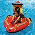 """Надувной круг, лодка пвх """"Пират"""" с водным пистолетом"""